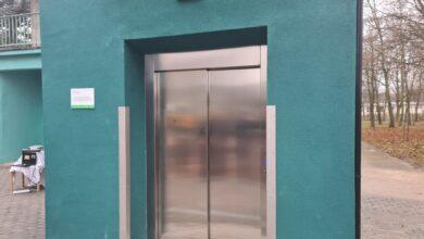 Photo of Piotrków: Nowa winda zewnętrzna w szpitalu przy Rakowskiej
