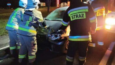 Photo of Kolizja i śmiertelne potrącenie na DK12 w Poniatowie