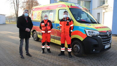 Photo of Nowy ambulans w Grabicy!