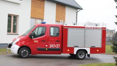 Photo of Nowy wóz strażacki dla OSP Zaborów