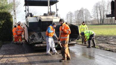 Photo of Kończy się II etap przebudowy drogi w miejscowości Gieski