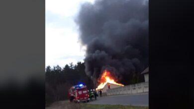 Photo of Pożar domu w Bilskiej Woli
