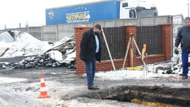 Photo of Rozprza: Trwa budowa kanalizacji wraz z przyłączami