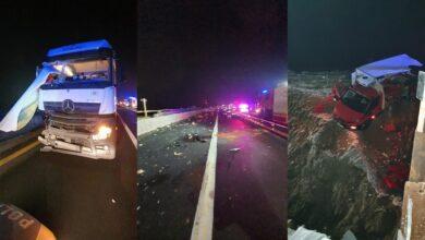 Photo of Śmiertelny wypadek na A1. Zginął 25-letni kierowca