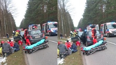 Photo of Dwie ofiary śmiertelne w wypadku pod Ręcznem