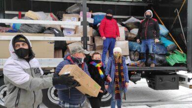 Photo of Ciężarówka pełna darów dla chorwackiej Petrynji – FILMY, ZDJĘCIA