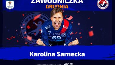 Photo of Karolina Sarnecka zawodniczką grudnia!