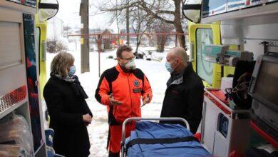 Photo of Gorzkowice: Spotkanie wójta z ratownikami medycznymi
