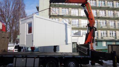Photo of Kontenery zastąpią strażacki  namiot – AKTUALIZACJA