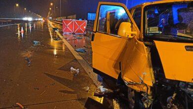 Photo of Tragedia na S8. Bus zderzył się z ciężarówką, nie żyje jedna osoba