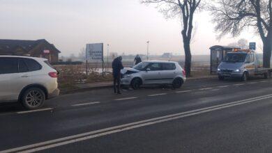 Photo of Na Korytnicy zderzenie dwóch osobówek