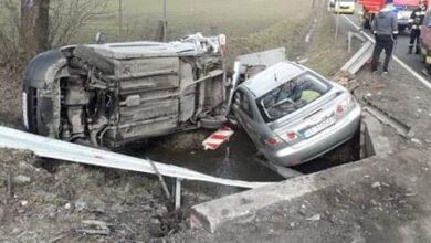 Photo of Wypadek w Milejowie. Jedna osoba ranna