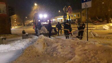 Photo of Usuwanie nadmiaru śniegu w Gorzkowicach