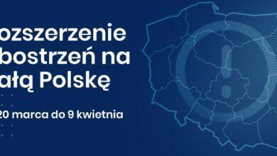 Photo of Od 20 marca w całej Polsce obowiązują rozszerzone zasady bezpieczeństwa