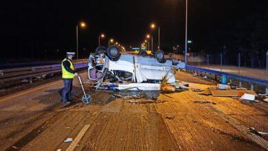 Photo of Rodzinna tragedia na S8. Nie żyje 39-letnia pasażerka kampera