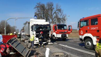 Photo of Kolejny śmiertelny wypadek na DK12. Tym razem TIR zderzył się z ciągnikiem rolniczym