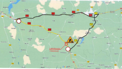 Photo of Od dziś DK74 zamknięta pomiędzy Sulejowem a Żarnowem. Będą korki!