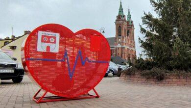 Photo of Serce na nakrętki stanęło na gorzkowickim rynku