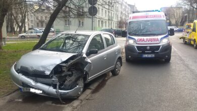 Photo of Opel zderzył się z toyotą