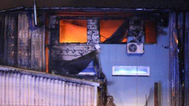 Photo of Pożar w hali magazynowej przy Glinianej – ZDJĘCIA, FILMY