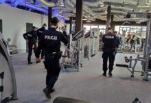 Photo of Policja skontrolowała siłownię