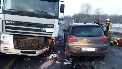 Photo of Poranny wypadek na DK1