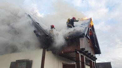 Photo of Pożar domu w Lubiaszowie