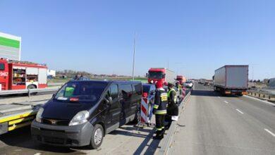 Photo of Wypadek na A1 – AKTUALIZACJA