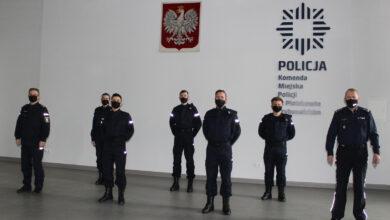 Photo of Sześciu nowych funkcjonariuszy w piotrkowskiej policji