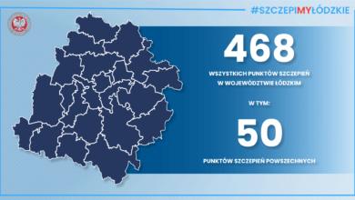Photo of W województwie łódzkim powstanie 50 Powszechnych Punktów Szczepień
