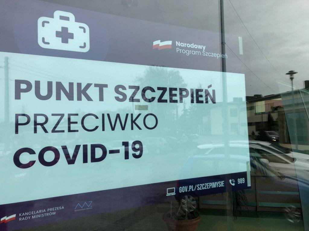 Punkt w Moszczenicy rozpoczął masowe szczepienia