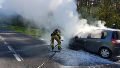 Photo of Pożar samochodu