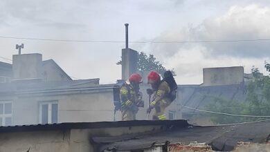 Photo of Pożar na starówce – FILM, ZDJĘCIA