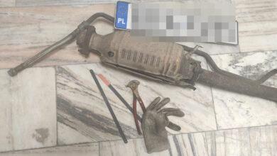 Photo of Podczas kontroli drogowej wpadli złodzieje katalizatorów