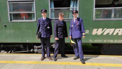 Photo of Retro pociągiem z Piotrkowa do Bełchatowa – ZDJĘCIA, FILM