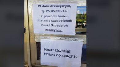 Photo of Powszechny punkt szczepień w Piotrkowie zamknięty na cztery spusty!