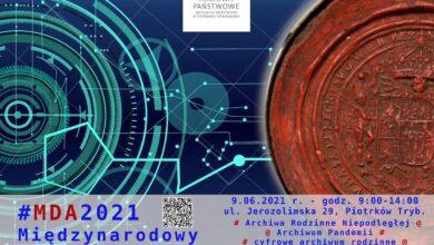 Photo of Międzynarodowy Dzień Archiwów #MDA2021