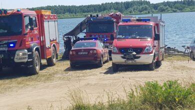 Photo of Poszukiwania ciała mężczyzny w Zalewie Cieszanowickim – AKTUALIZACJA