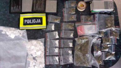 Photo of Ecstasy i marihuana u zatrzymanego 23-latka. Grozi mu 8 lat więzienia