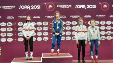 Photo of Julia Dolna brązową medalistką mistrzostw Europy