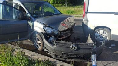 Photo of Cztery samochody zderzyły się w Sulejowie