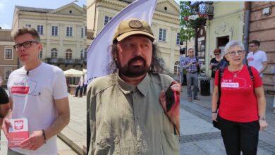 Photo of Tuleya, Hołdys i Przywara na Rynku Trybunalskim w ramach akcji Tour de Konstytucja – AKTUALIZACJA