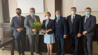 Photo of Zarząd Powiatu Piotrkowskiego z absolutorium