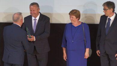 Photo of Burmistrz Wolborza odebrał nagrodę na Orawie