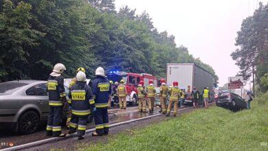 Photo of Zablokowana DK74 w Sulejowie