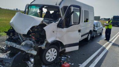 Photo of Wypadek w Karlinie. Kraksa 3 samochodów