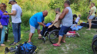 Photo of W ten weekend niepełnosprawni nurkują na Wapiennikach w Sulejowie – ZDJĘCIA