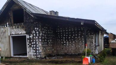 Photo of W pożarze stracili niemal wszystko. Rodzina z Trzepnicy (gm. Łęki Szlacheckie) potrzebuje pomocy