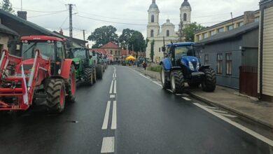Photo of Rozpoczął się 48 godzinny protest rolników – ZDJĘCIA