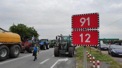 Photo of Od wtorku 48 godzinna blokada na DK12/91 w Srocku – drogowcy wyznaczyli objazdy